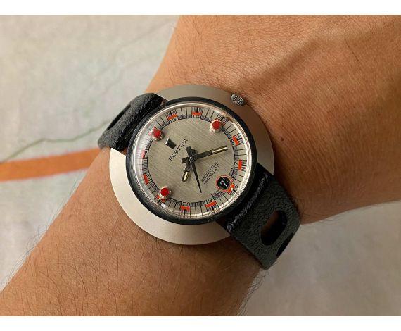 N.O.S. FESTINA DIVER Reloj suizo automático vintage 25 JEWELS 10 ATMOS Cal. ETA 2782 OVERSIZE *** NUEVO DE ANTIGUO STOCK ***