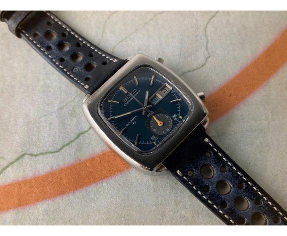 SEIKO MONACO Reloj cronógrafo vintage automático Ref. 7016-5001 Cal. 7016 *** TODO ORIGINAL ***