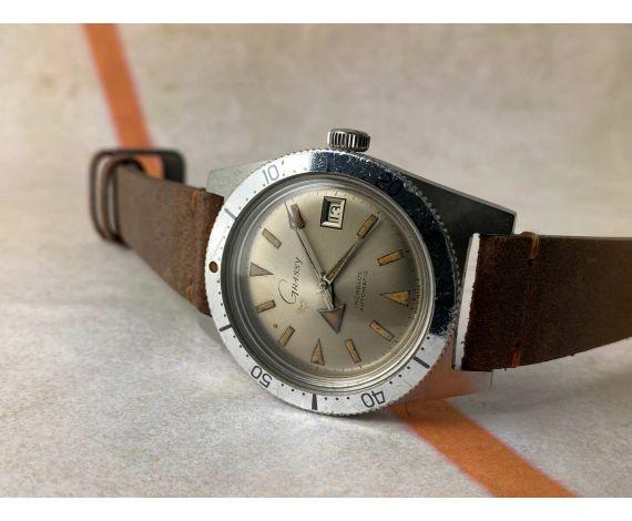 GRASSY (ROLEX Dealer) DIVER vintage swiss automatic watch 20 ATM Cal. AS 1700-01 BROAD ARROW *** COLLECTORS ***