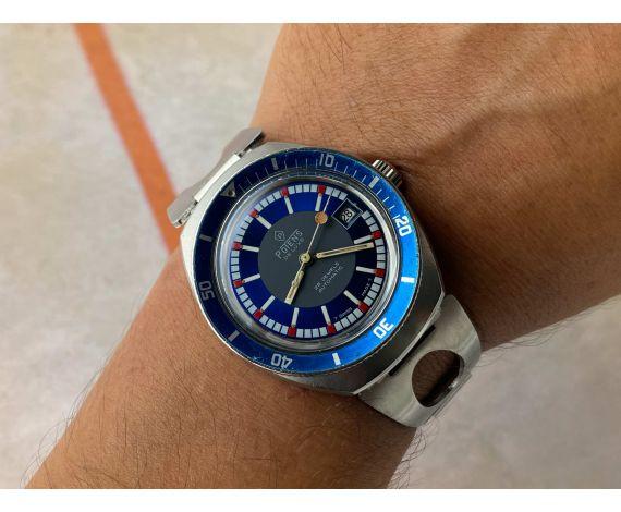 POTENS DIVER Vintage swiss automatic watch 25 jewels 20 ATM Cal. ETA 2783 *** SCREW DOWN CROWN ***