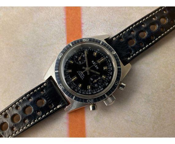 KELEK Reloj Diver cronógrafo suizo antiguo de cuerda 20 ATM Cal. Landeron 248 *** PRECIOSO ***
