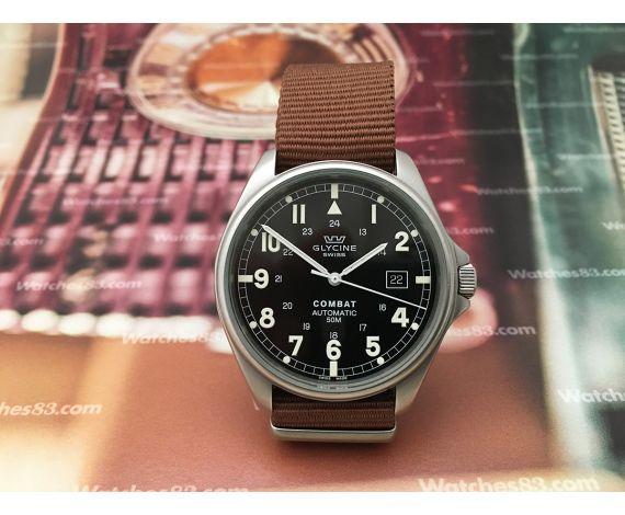 Glycine Combat Reloj suizo automático Oversize Ref 3815