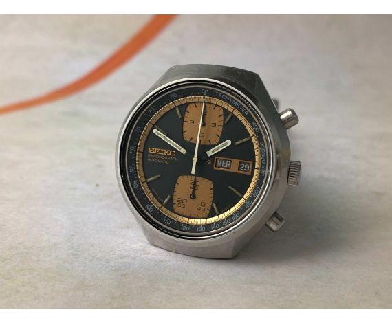 SEIKO JOHN PLAYER SPECIAL 1976 Ref. 6138-8030 Reloj cronógrafo antiguo automático Cal. 6138-B JAPAN *** JPS ***