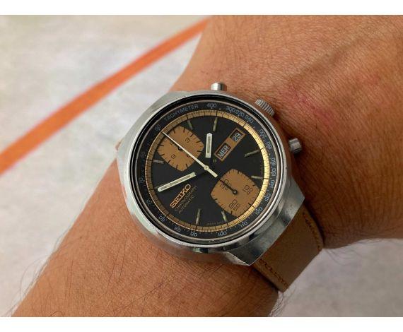 SEIKO JOHN PLAYER SPECIAL 1976 Ref. 6138-8030 Vintage automatic chronograph watch Cal. 6138-B JAPAN *** JPS ***