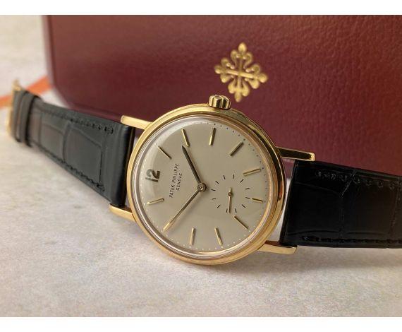 PATEK PHILIPPE CALATRAVA 1963 Ref. 3435 Vintage swiss automatic watch 18K Gold Cal. 27-460. COLLECTORS *** EXTRACT + BOX ***