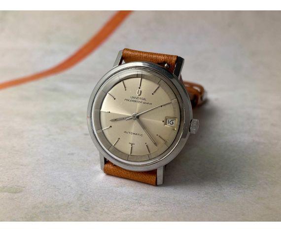 UNIVERSAL GENEVE POLEROUTER 1961 Reloj vintage suizo automático Cal 218-2 MICROTOR 28 JEWELS Ref. 204004/8 *** BONITO ***
