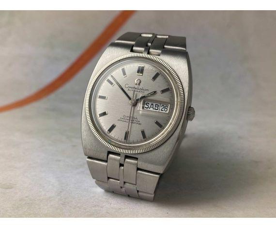 OMEGA CONSTELLATION Chronometer Officially Certified Reloj antiguo automático Ref. 168.045 Cal. 751 *** TODO ORIGINAL***