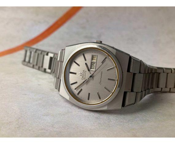 OMEGA SEAMASTER QUARTZ 1977 Vintage swiss quartz watch Ref. ST 196.0089 Cal. 1345 *** OVERSIZE ***