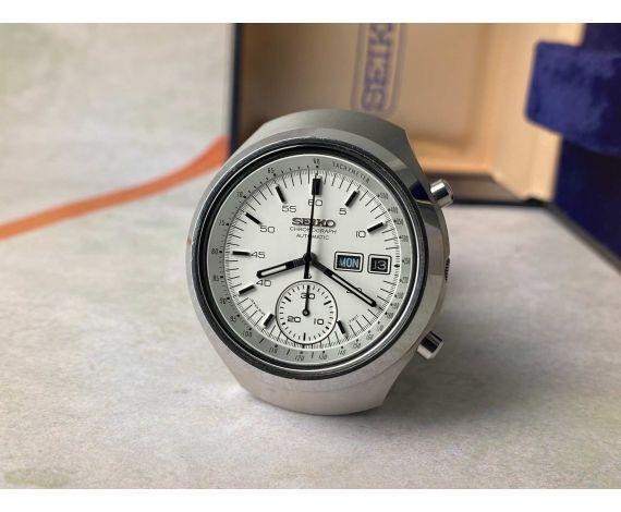 SEIKO HELMET Reloj cronógrafo vintage automático Ref. 6139-7101 Cal. 6139 + ESTUCHE *** CONDICIÓN ESPECTACULAR ***