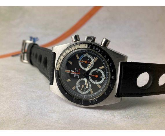 TISSOT PR 516 Vintage swiss hand winding chronograph watch Cal. Lemania 873 Ref. 40528-2X *** TRIPLE COUNTER ***