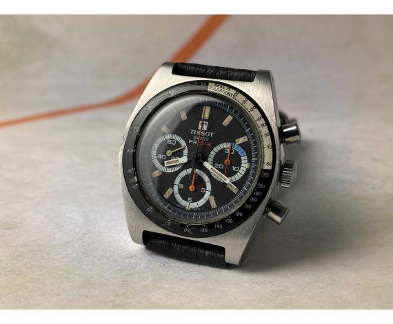 TISSOT PR 516 Reloj vintage suizo cronógrafo de cuerda Cal. Lemania 873 Ref. 40528-2X *** TRIPLE CONTADOR ***