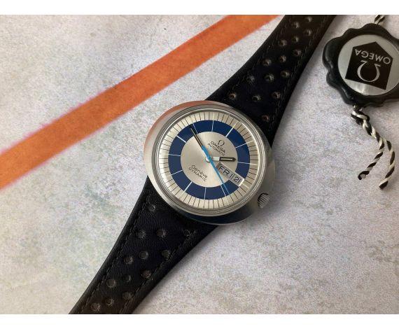 Omega Dynamic Reloj suizo vintage automático Cal. 752 Ref. 166.079 TOOL 107 *** MINT ***