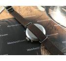 WW1 Reloj suizo antiguo oficial de trinchera de cuerda 1916 *** OVERSIZE ***