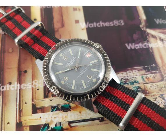 Reloj suizo antiguo de cuerda Rolatron Super 27 Diver