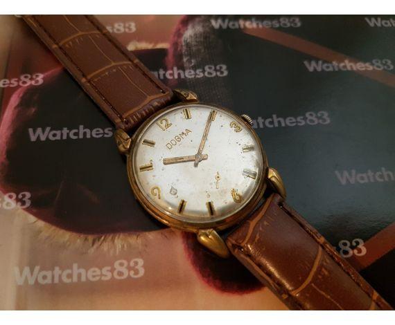 Reloj suizo antiguo de cuerda Dogma Oversize