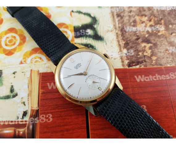 Control De Luxe 18 jewels vintage manual winding swiss watch OVERSIZE
