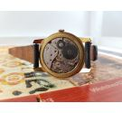 Control De Luxe 18 rubis Reloj antiguo suizo de cuerda Gran diámetro