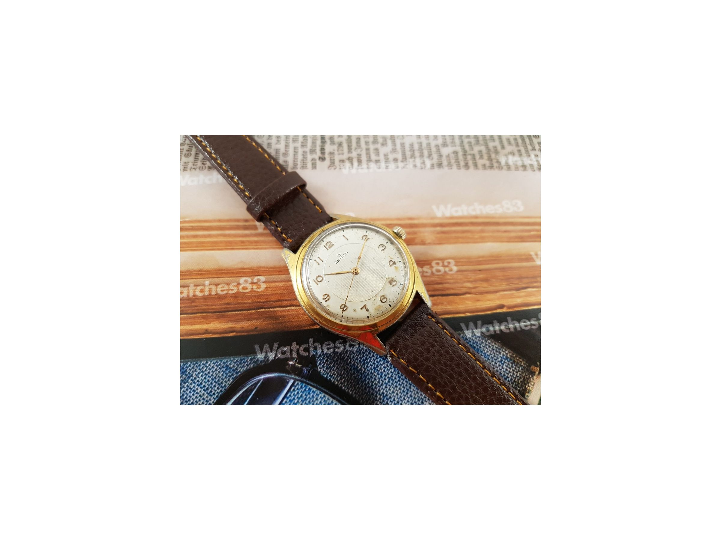 Zenith Reloj Suizo Antiguo De Cuerda Plaqu 233 Or Watches83