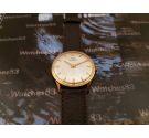 Duward antiguo reloj suizo de cuerda bañado en oro