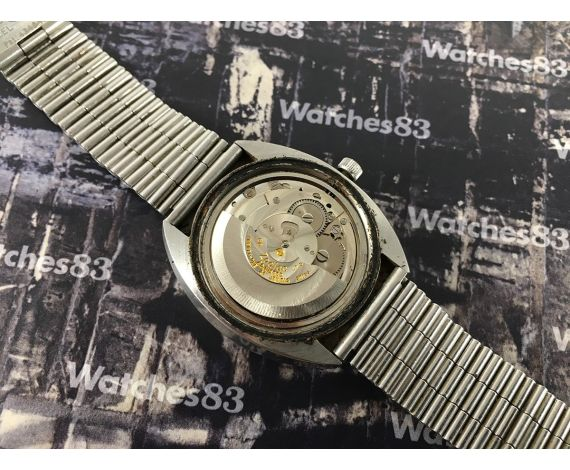 Vintage swiss watch Zodiac automatic SST 36000 Blue dial