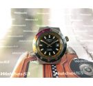 Old watch manual winding CHROMATIC Diver Spectacular! Oversize 17 Rubis