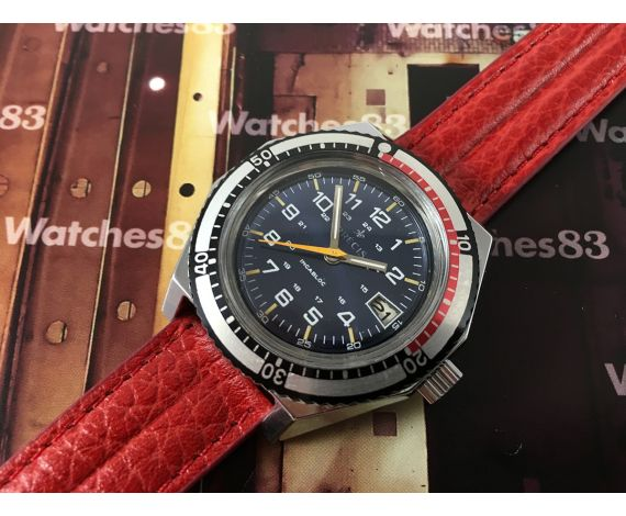 Old watch manual winding Precis Diver type