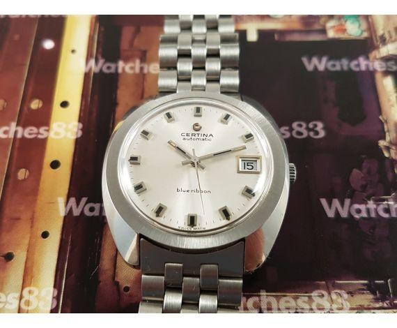 Vintage swiss watch Certina automatic Blue Ribbon Cal 25-651