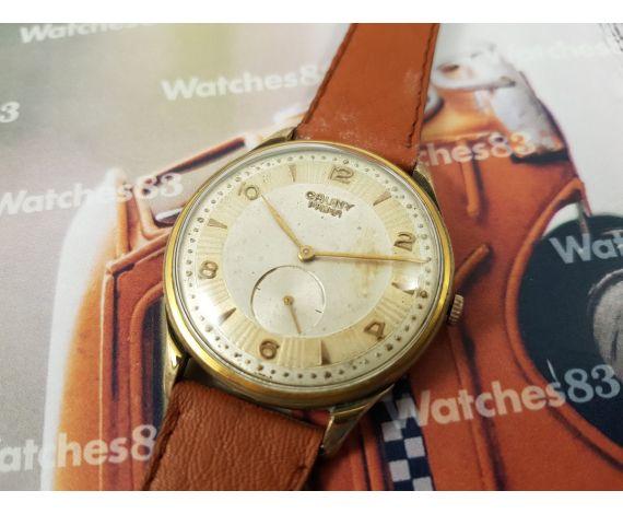 CAUNY PRIMA Reloj antiguo suizo de cuerda. Oversize!!!