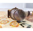 Zenith reloj antiguo de cuerda. Plaqué OR