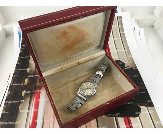 Vintage Swiss Rolex Oyster Precision manual winding Watch 1969 Serial 2493XXX + BOX
