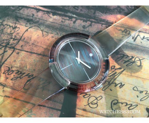 Swatch type manual winding