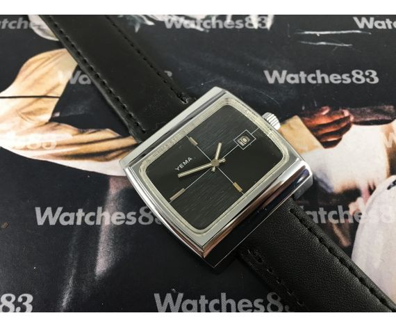 Vintage watch hand winding Yema New Old Stock NOS