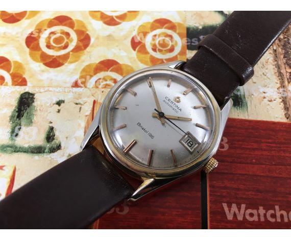 Reloj suizo antiguo automático Certina Bristol 195 Cal 25-651 21 jewels