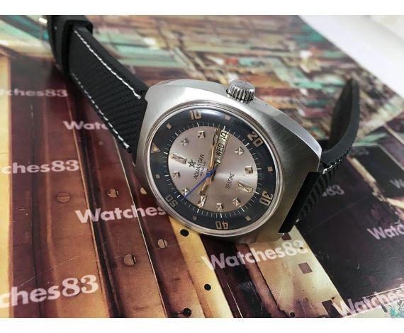 Reloj suizo antiguo automático Aquastar Genève Seatime Diver *** COLECCIONISTAS ***