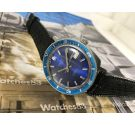 Swiss automatic watch PATIC 25 jewels Diver Blue