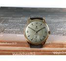 Vintage swiss manual winding watch DUX ** Plaqué OR ** OVERSIZE 21 jewels