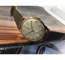 Reloj suizo antiguo de cuerda DUX ** Plaqué OR ** GRAN DIÁMETRO 21 jewels
