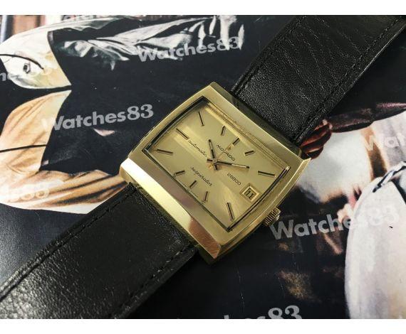 Antiguo reloj suizo automático Movado Respirator 28800 058E727