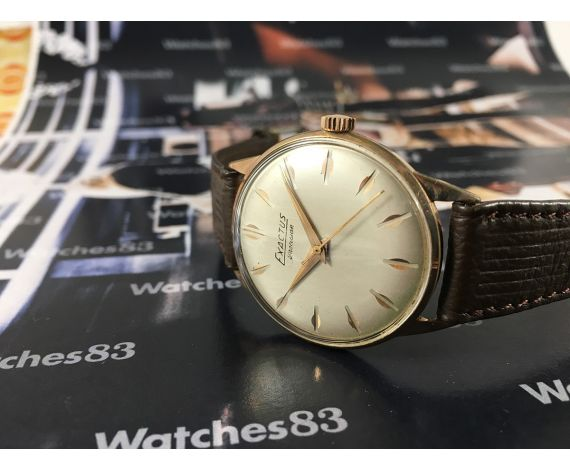 Reloj suizo antiguo de cuerda Exactus Precision Plaqué OR